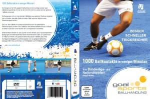 Fussballtraining 1000 Ballkontakte