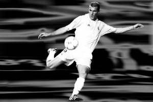 So zaubert Weltmeister Zidane beim Futsal