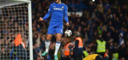 Finten und Tricks der Stars – Eden Hazard (Chelsea London) Fußball-Trick