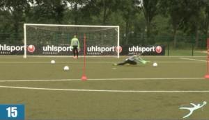 Torspielertraining www.deinfussballtrainer.de