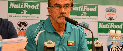 Gerd Zeise – U20 Nationaltrainer von Myanmar