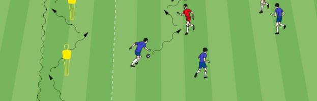 FC Porto Nachwuchstraining: Technik, Technik, Technik